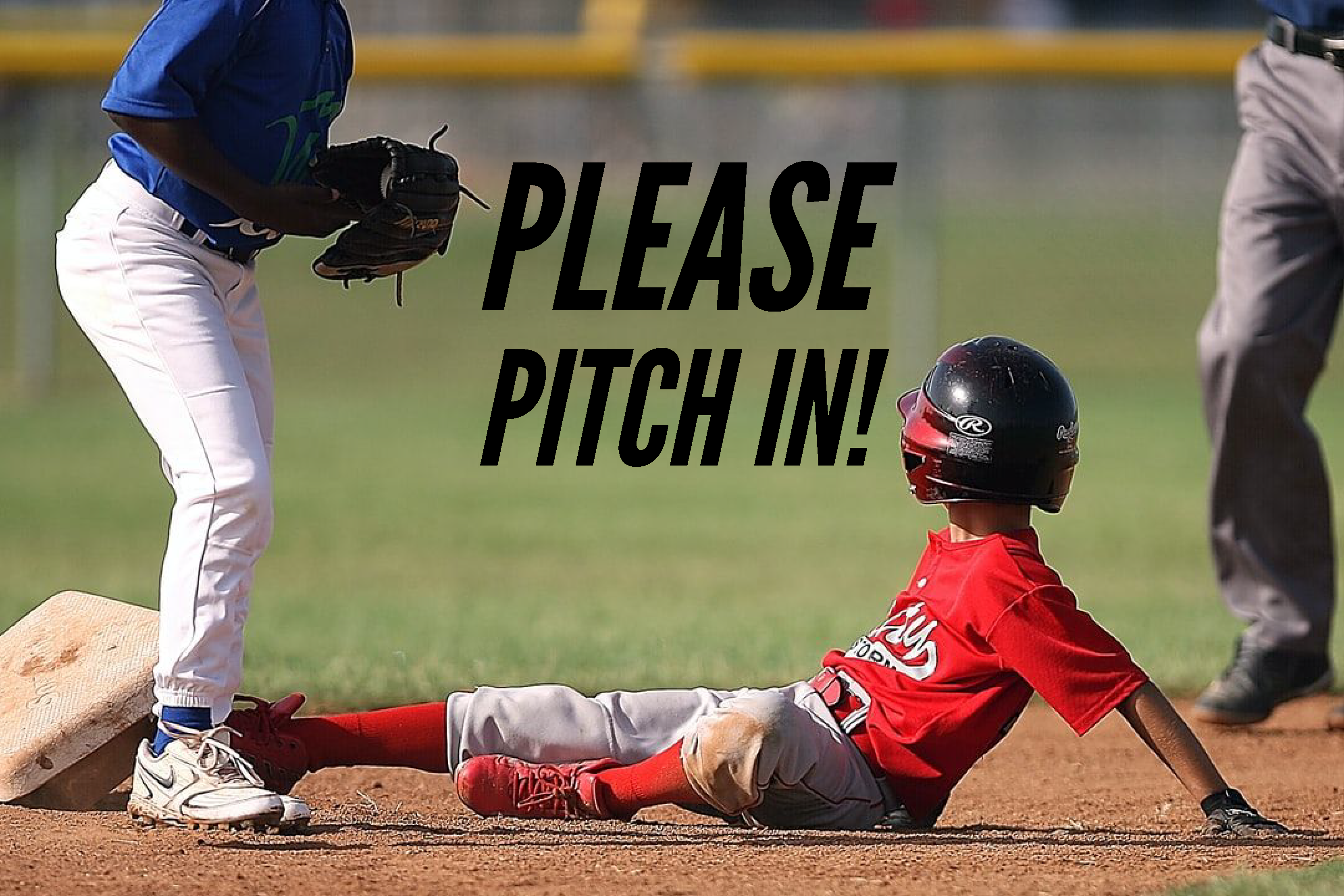 Please Pitch In!