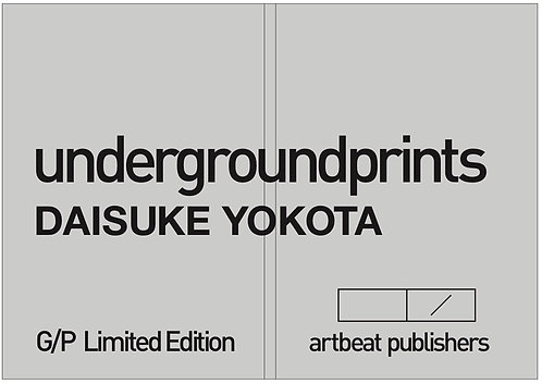 Daisuke Yokota undergroundprints