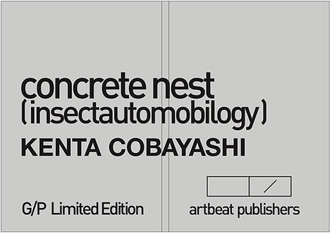 Kenta Cobayashi concrete nest (insectautomobilogy)