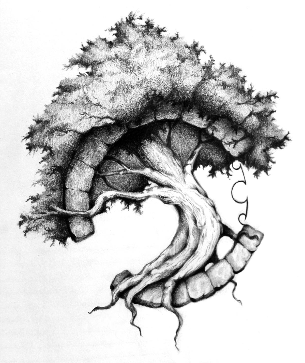 Ash Tree Tattoo