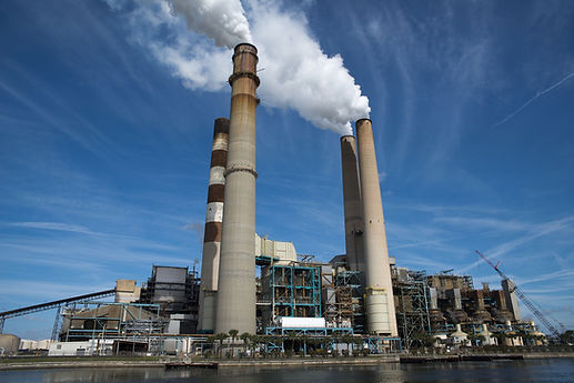Thermal power plants are one of the major contributors to outdoors air pollution.