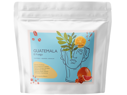 Guatemala El Fuego