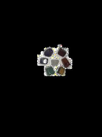 Kit 7 Pedras Naturais para Chanoch Online – As pedras dos chacras;