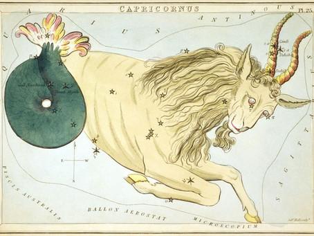 It's all happening in Capricorn
