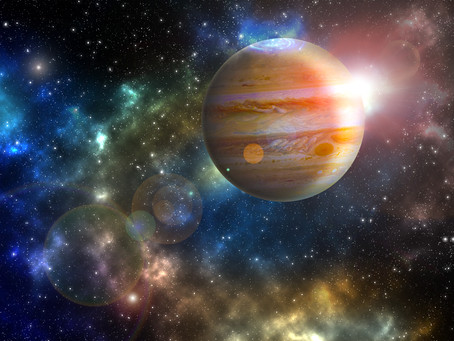Jupiter gets liberated today!