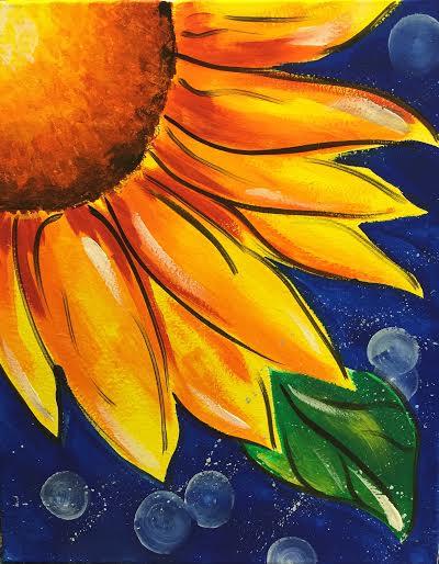 Whimisical Sunflower