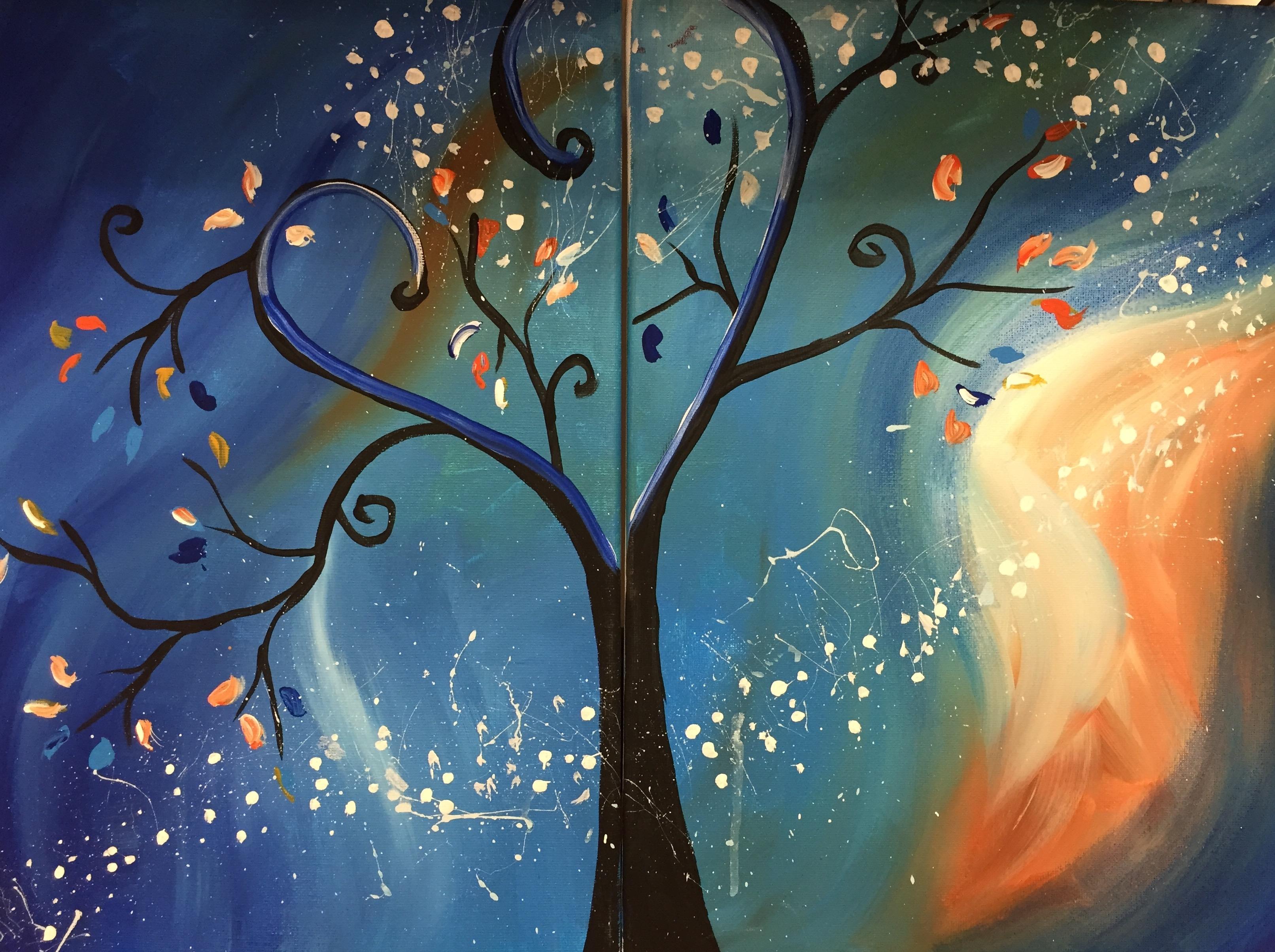 Tree swirl Couples