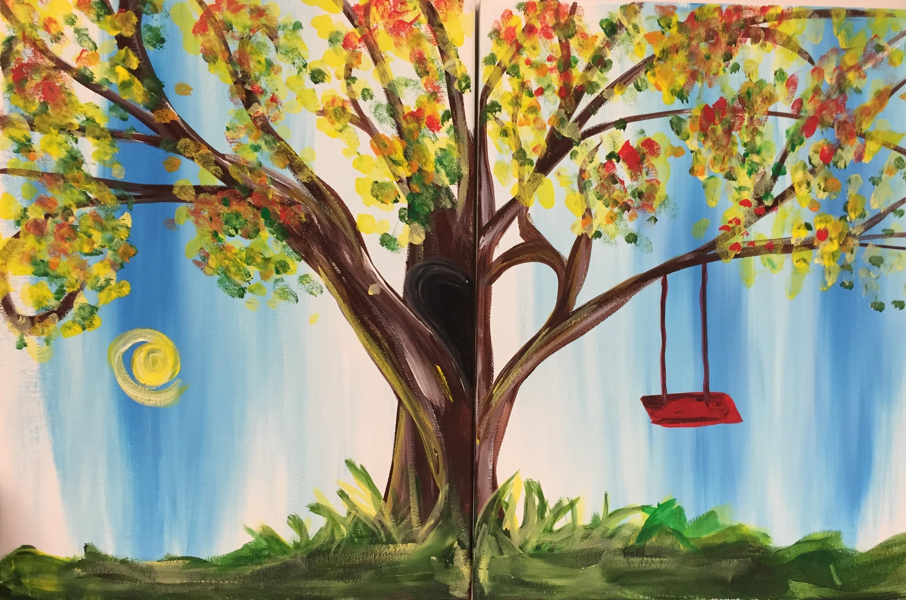 Tree Swing Couples