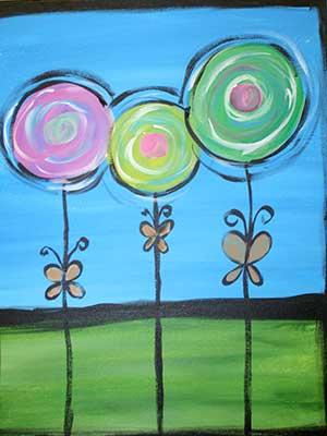 Three-Flowers