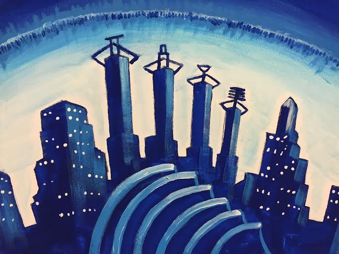 KC Blue Skyline