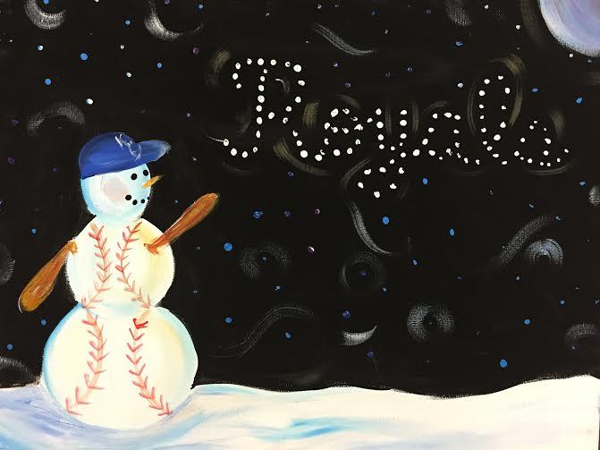 Royals Snowman