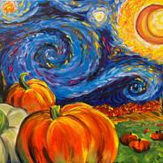 Starry Pumpkin Patch