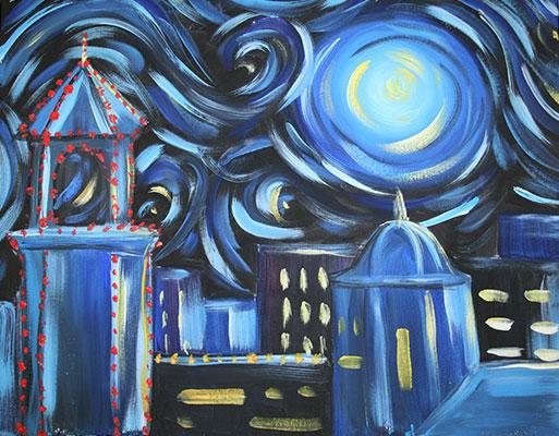 Plaza-Starry-Night
