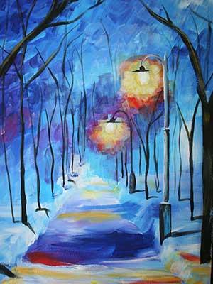 Snowy-Reflection