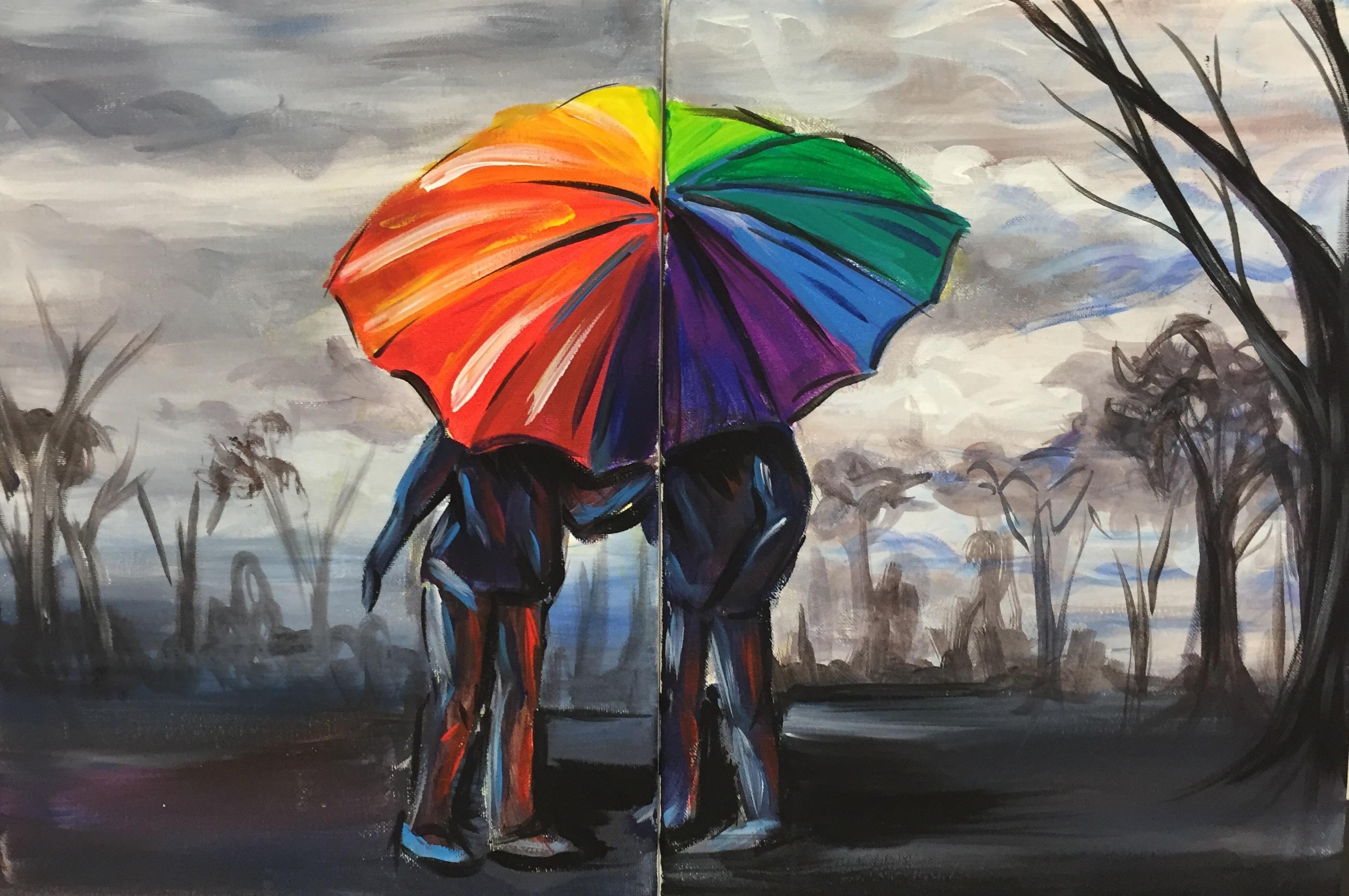 Couples Rainbow