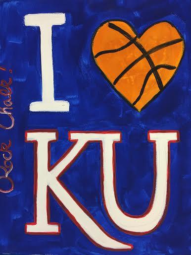 I Love KU Basketball