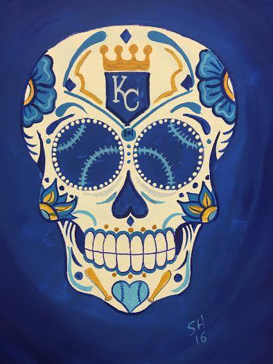 Royals Sugar Skull
