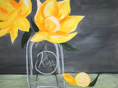 Mason-Jar-Flower