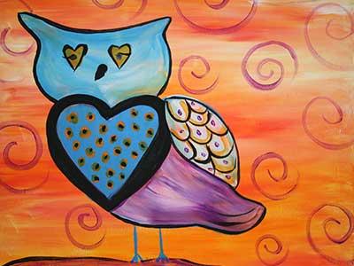 Heart-Owl