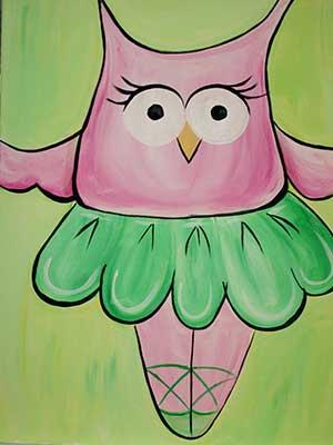 Owl-Tutu