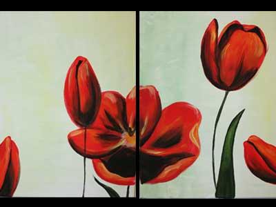 Couples-Tulips