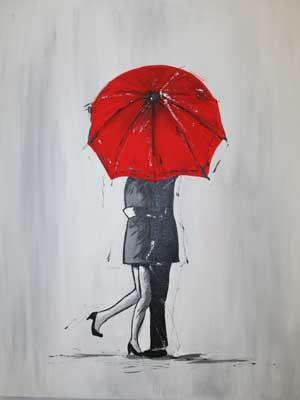 A-Kiss-Under-the-Umbrella