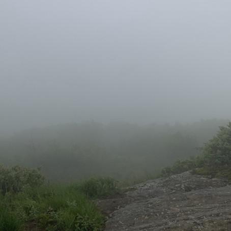 A Foggy Camp Morning
