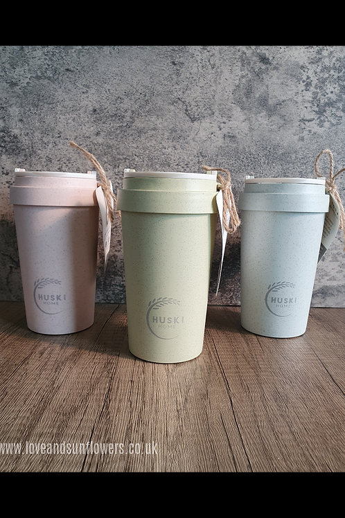 Rice Husk Travel Coffee Cup