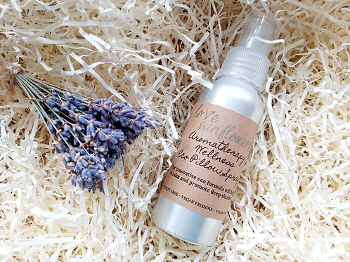 5x Aromatherapy Wellness Eco Pillow Spray