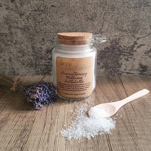 5x Aromatherapy Wellness Bath Salts