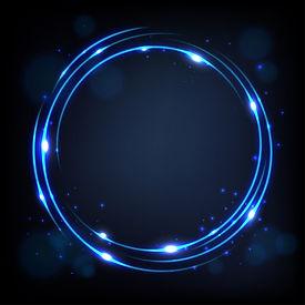 rond-bleu-brillant-fond-etincelles_48799