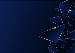 ligne-luxe-dore-motif-abstrait-polygonal