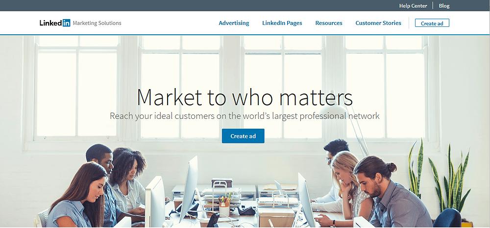 LinkedIn, Marketing solutions