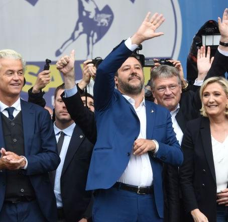 """Elezioni Europee, la Lega Salvini """"ruspa"""" il M5S"""