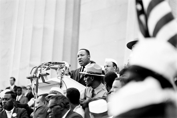 """""""I have a dream"""". Martin Luther King al Lincoln Memorial"""