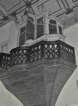 Local original do órgão de tubos