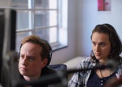 Diretor Diego Freitas e a diva continuista Helena! #osegredodedaviofilme #osegredodedavi