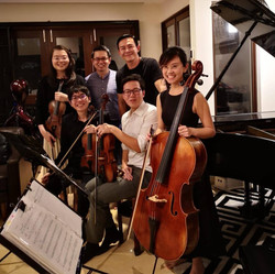 Recording Session for《爱本》Theme Song
