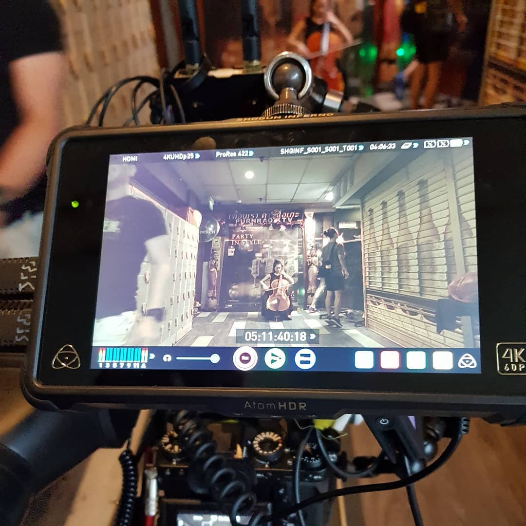 Filming of Bryan Wong's《爱本》