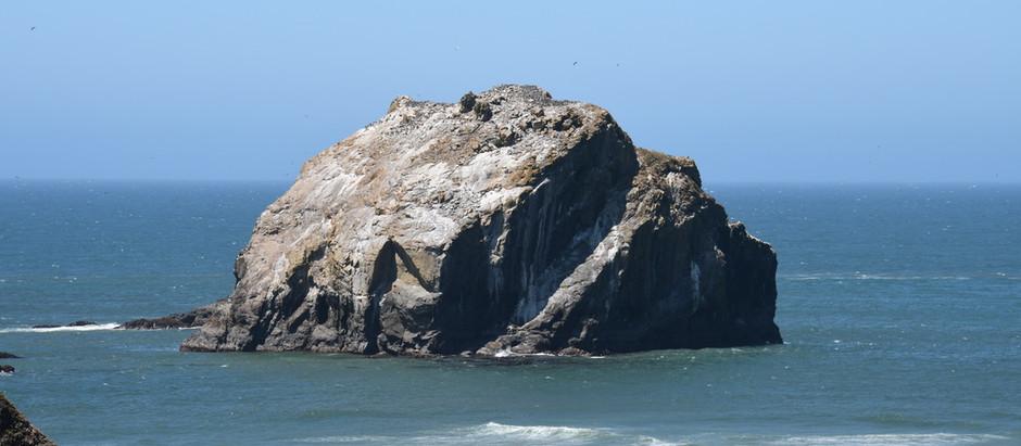 Bandon's Face Rock