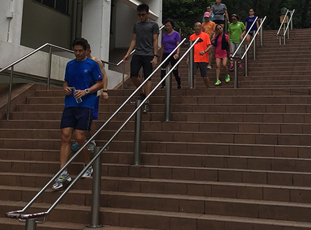 """""""Step up your Health, Take the Stairs"""""""
