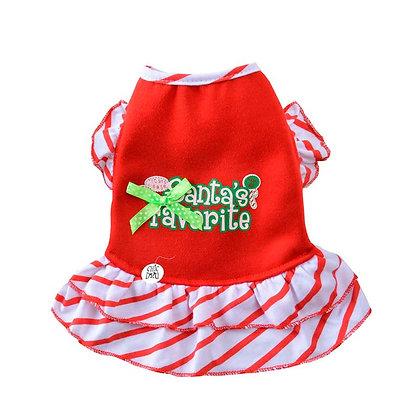Vestido Santa's Favorite