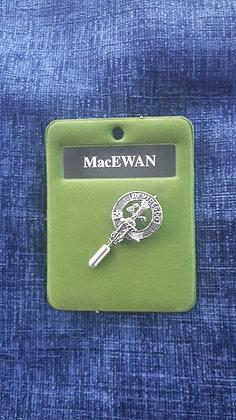 Clan Crest Lapel/Tie pin