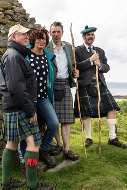 Bruce, Herma, Sir John and Sean