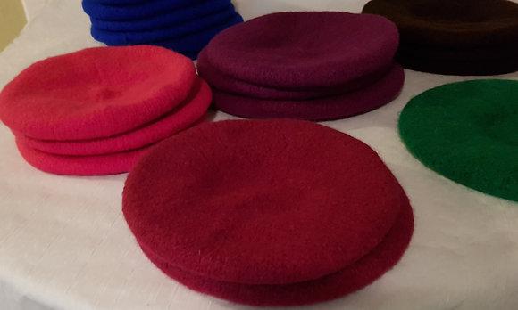 Hand Knitted Wool Bonnet