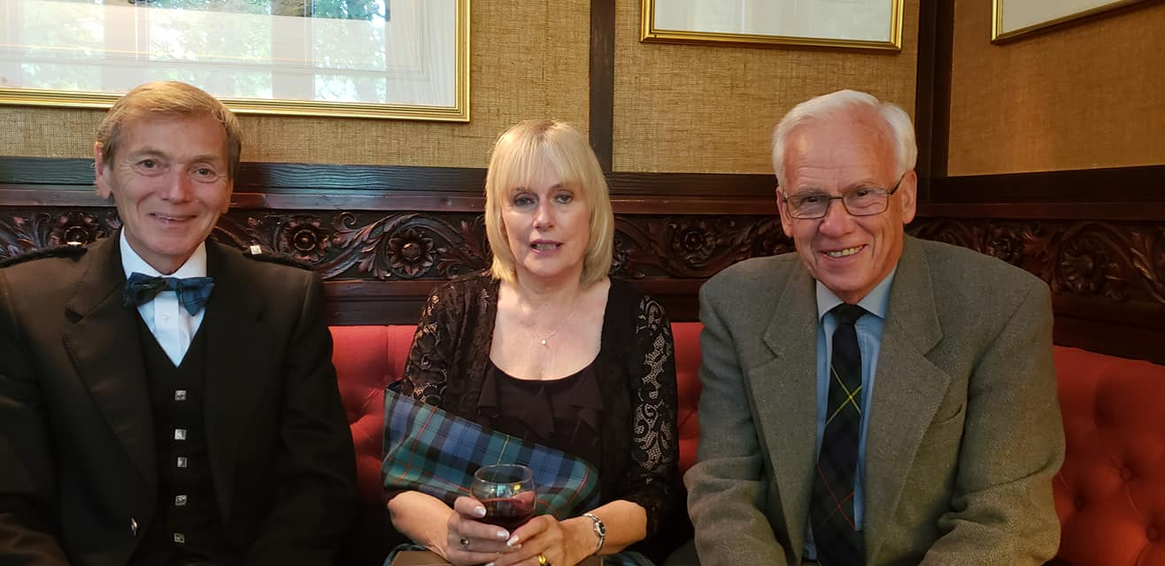 Duncan McEwan  Ewen and Pauline Rowland.