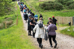 On the way to the Cairn