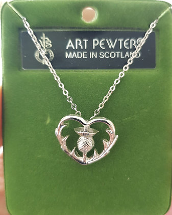 Thistle Heart Pendant