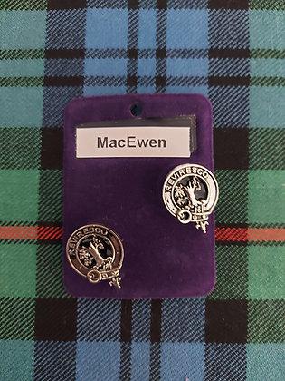 Clan Crest Cufflinks ( Clearance)