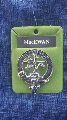 Clan Crest Cap Badge (Large)